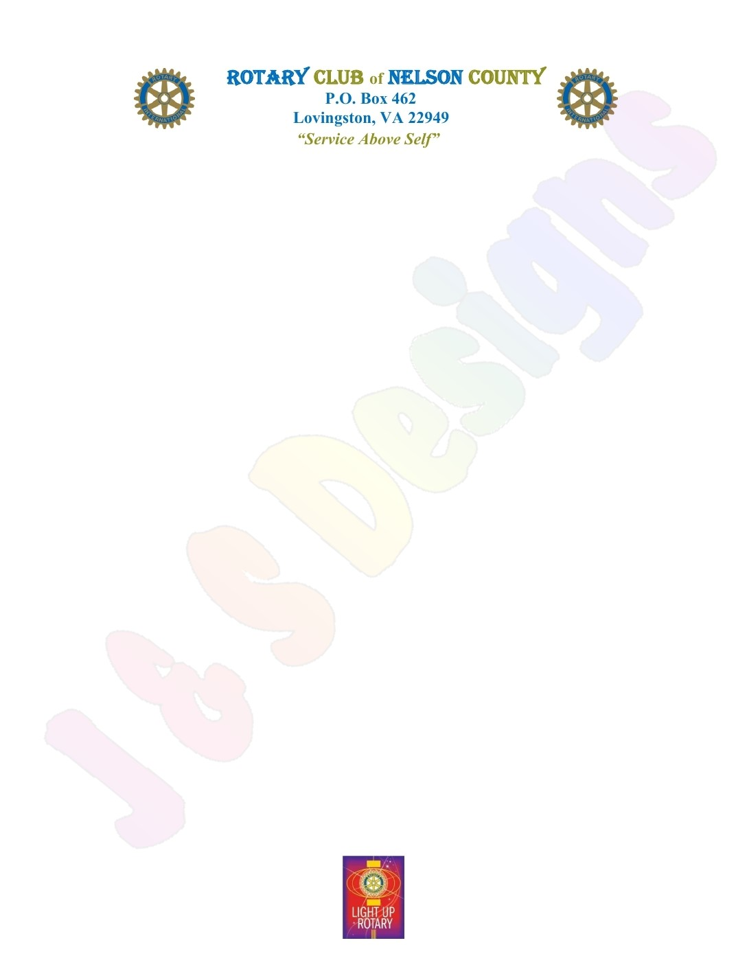 Nelson County Rotary Letterhead with emblem 2014 page 1 2