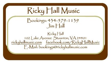 Ricky Business Card SMALL