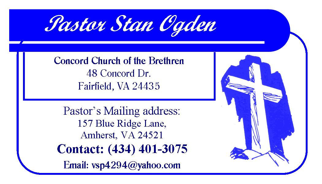 Stan Ogden Concord Brethren Business Card 2